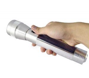 The Solar LED Flashlight