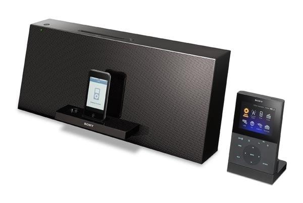 Sony NAS-Z200iR WiFi iPod Dock