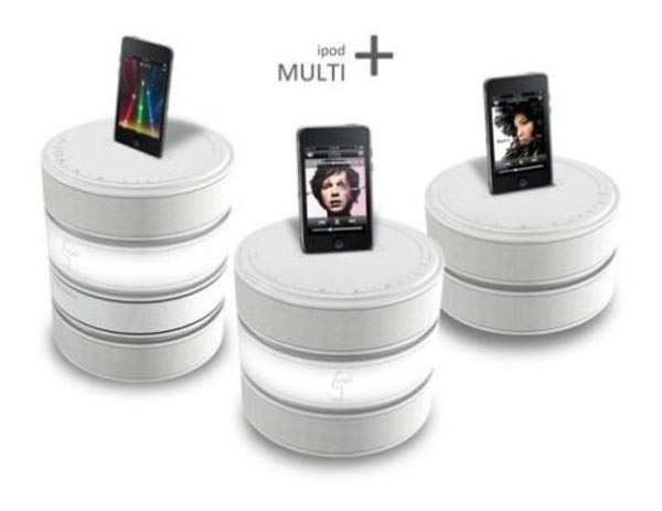 Stackable iPod Dock