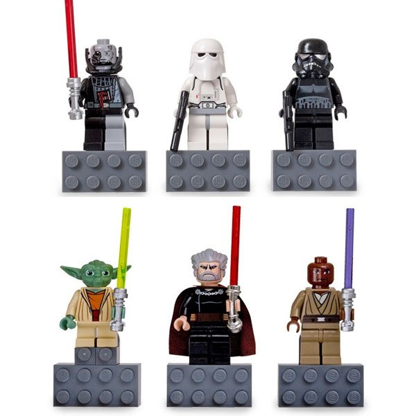 These authentic LEGO® Star Wars Battle-Damaged Darth Vader…