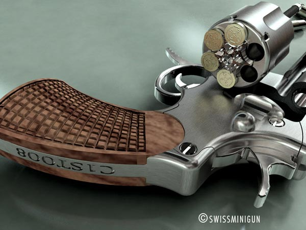 SwissMiniGun - The Worlds Smallest Pistol