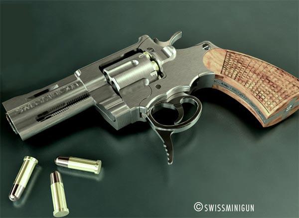 SwissMiniGun - The Worlds Smallest Pistol