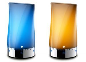 Mechanical Timer LED Light