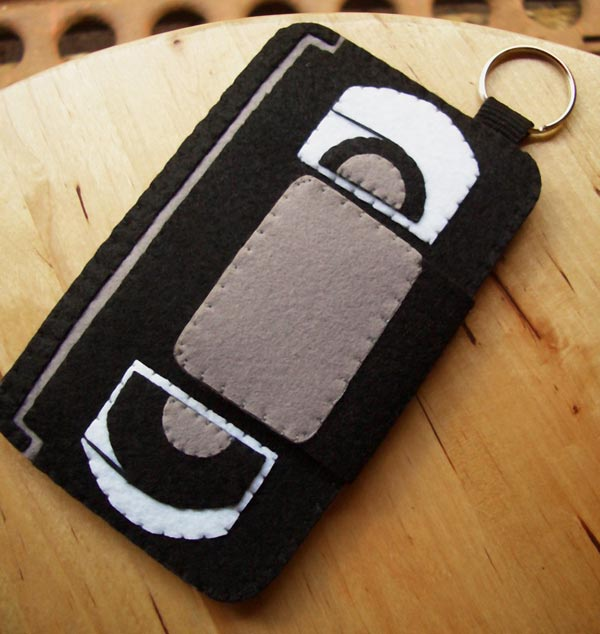 Felt VHS Tape iPhone Case