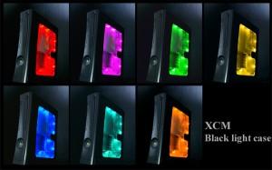 XCM Black Light Case for Xbox 360