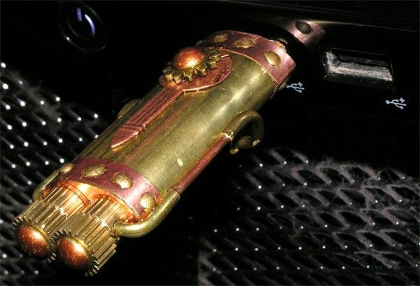 The $3,000 Steampunk USB Flash Drive