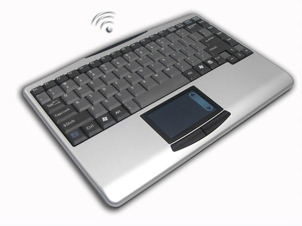 Adesso SlimTouch Wireless Keyboard
