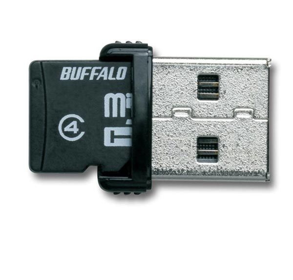 Buffalo 2-in-1 16GB ThumbDrive