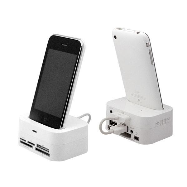 Photofast Card Reader iPhone Dock