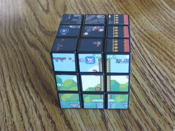 Super Mario World Rubik's Cube