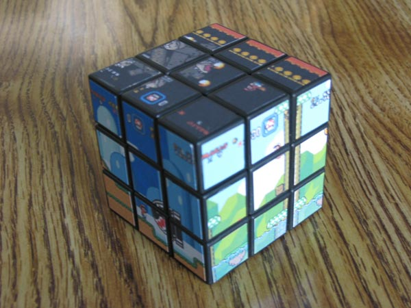 Super Mario World Rubik's Cube