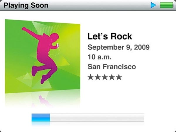Apple Special Event - 9th September 2009