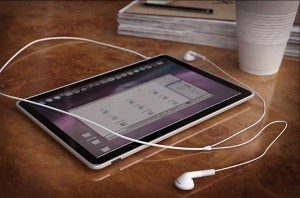 Apple Tablet OS Caught On Video