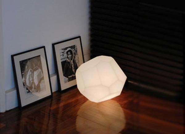 The Asteroid Lamp