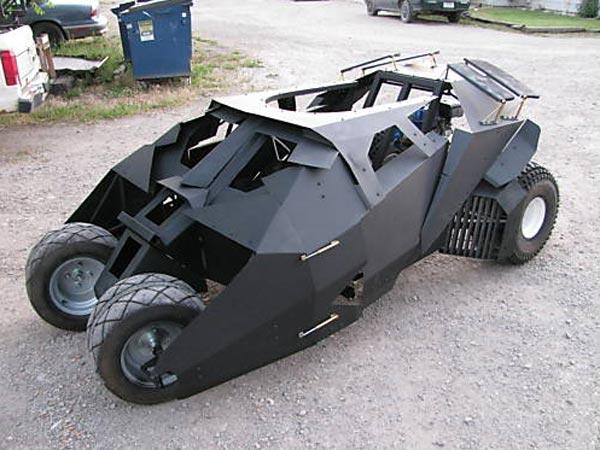 Batman Tumbler Go-Kart