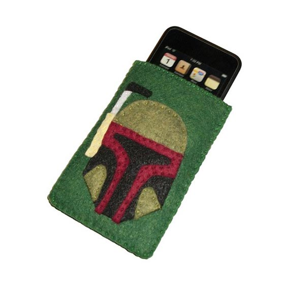 Felt Star Wars Boba Fett iPhone Case