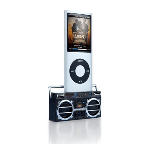 Boombox iPod Speaker