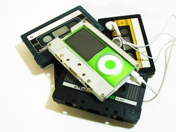 Cassette Tape iPod Nano Case