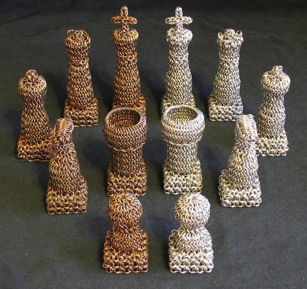 The Chainmail Chess Set