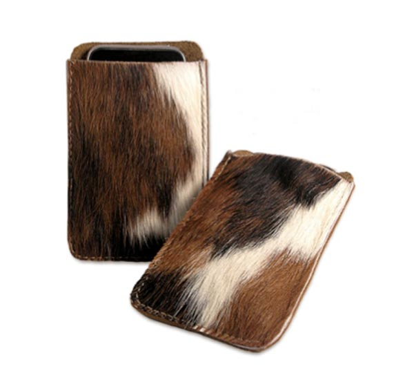 Cowhide iPhone Case
