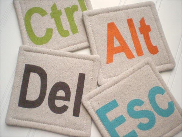 CTRL ALT Delete Coasters