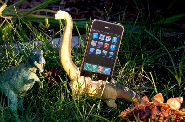 Dinosaur iPhone Dock
