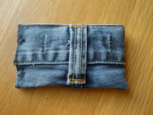 DIY Denim iPhone Case