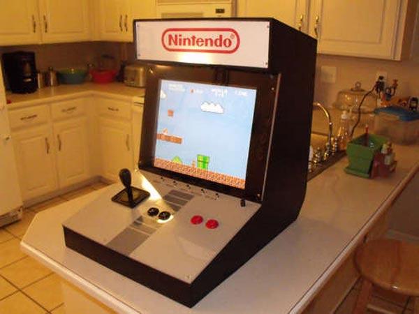 Diy Nintendo Arcade Cabinet
