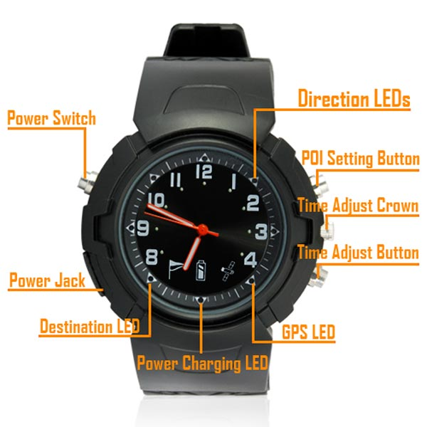 GPS Enabled Watch