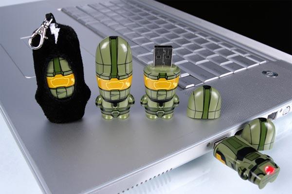 Halo Mimobot USB Flash Drives