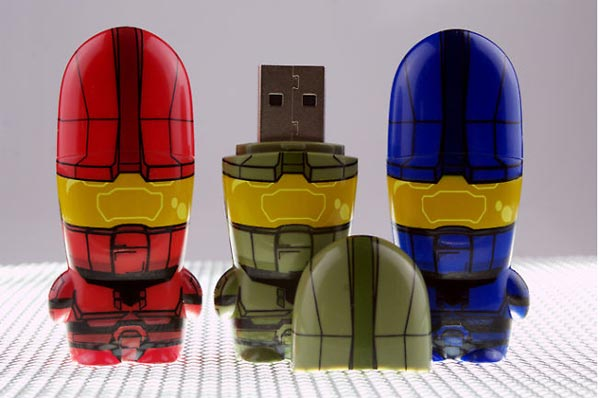 Halo Mimobot USB Flash Drives