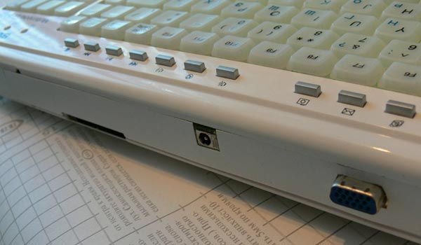 Homemade Asus Eee Keyboard PC