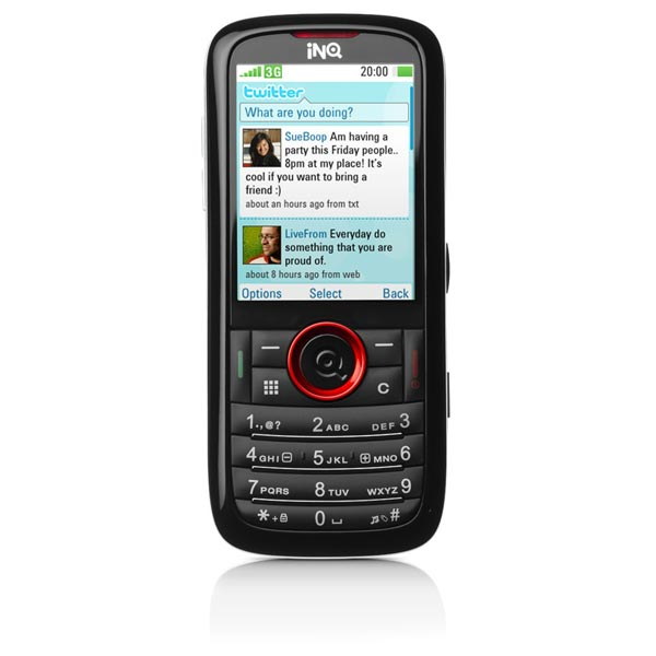 INQ Launches Two Twitter Mobile Phones