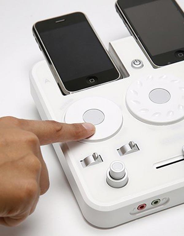 iPhone DJ Mixer