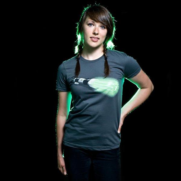 The LightSaver T-shirt