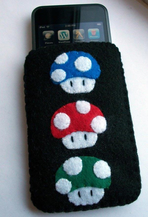 Mario Mini Mushroom iPhone Cases
