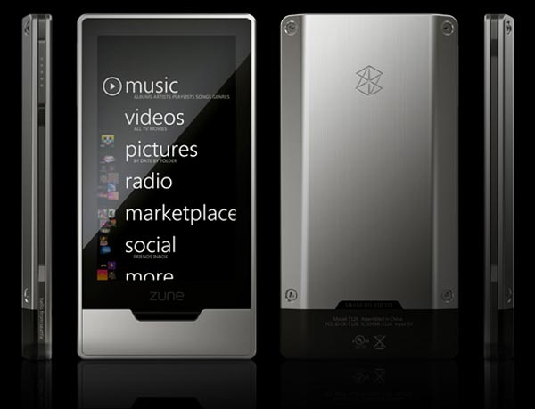 Microsoft Zune HD Pricing Revealed