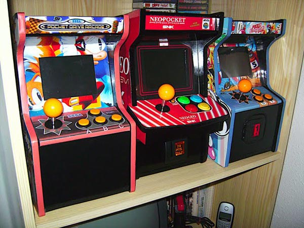 Neo Geo Mini Arcade Cabinet Mod