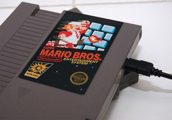 NES Cartridge Hard Drives