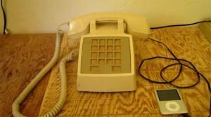 Retro Telephone iPod Speaker