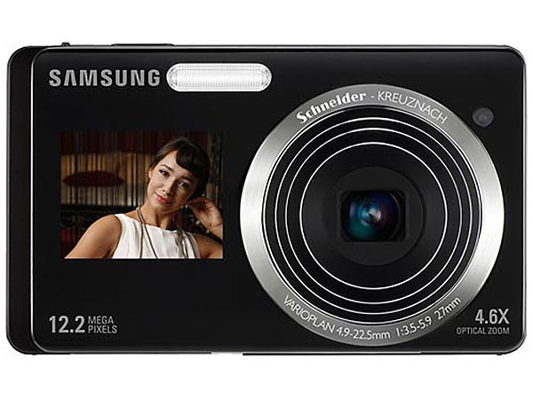 Samsung ST500 and ST550 Dual LCD Compact Cameras