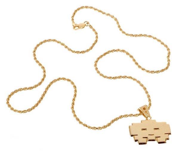 We have already seen some fun Space Invaders necklaces for the guys in the