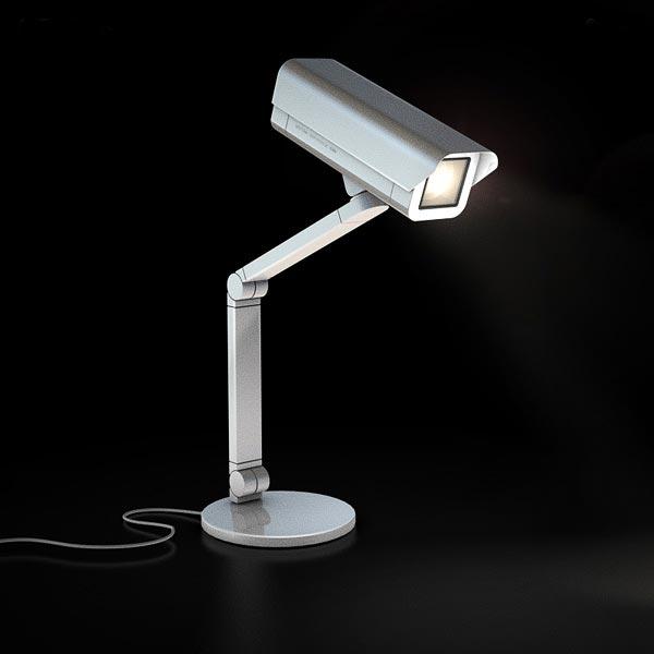 The Spoticam Lamp:spoticam lamp,Lighting