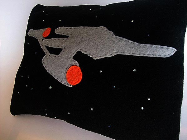 Star Trek Glow in the Dark Pillows
