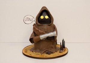 Star Wars Jawa Cake