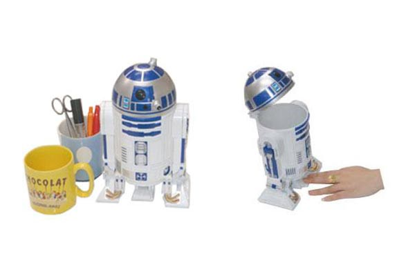 Star Wars R2D2 Desktop Trash Can