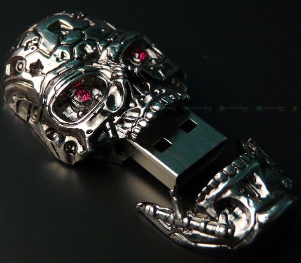 Terminator T600 Skull USB Drive