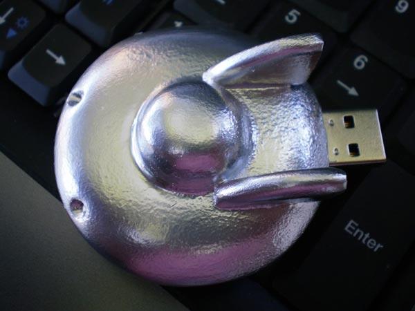 Homemade UFO USB Drive