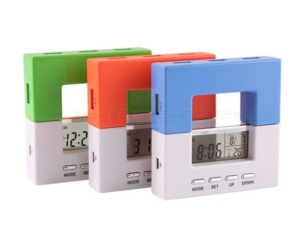 USB Alarm Clock Hub