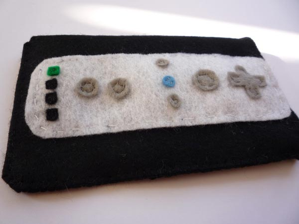 Wiimote Felt iPhone Case